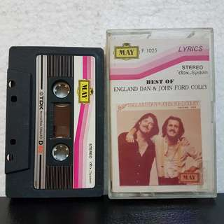 Cassette》Best Of England Dan & John Ford Coley