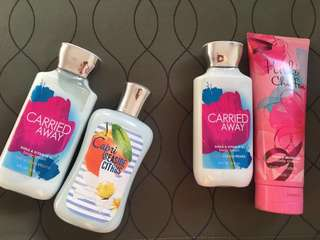 Take all for 700 - Bath & Body Works Lotion - Bundle - Used and Preloved