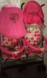 Twin. Stroller