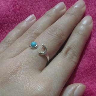 💍 Beautiful Blue Moon Ring Adjustable
