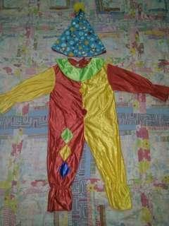 Clown costume 1-2 yrs old