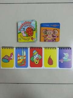 Flash Card & Children's Book x 7