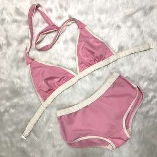 Baby Pink Two Piece