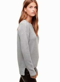 Aritzia - Wilfred free knitted sweater - small