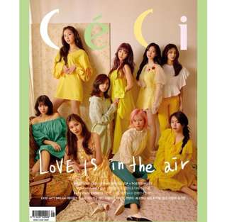 Quick preorder! Official MAGAZINE CECI 2018-5 TWICE TYPE A May 2018