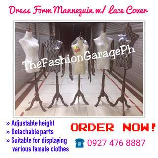 French TYPE Lace Cover Mannequins with Arms