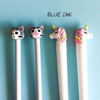 Cute Pens Cats Minions kawaii