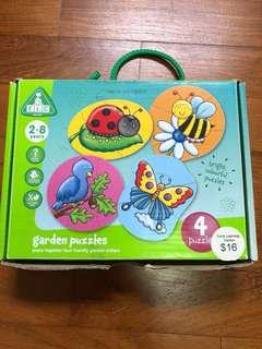 Elc garden jigsaw puzzle (4 puzzle)