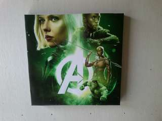 Hiasan dinding /wall decor avenger
