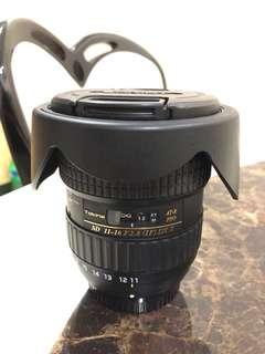 Tokina 11-16 F2.8 (IF) DX II (Nikon Mount