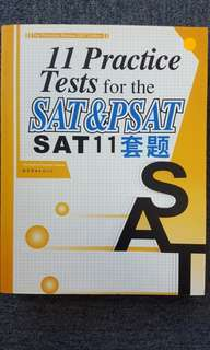 SAT 11 Practice Papers (Undone)(Answers included)