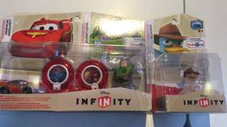 Disney Infinity Rare ToysRUs exclusives Crystal figures
