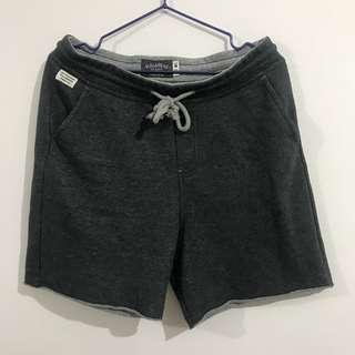 PULL&BEAR 深灰色短褲仔 90%新
