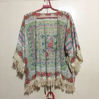 Beach cardigan/cover up S-XL