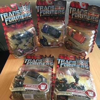 Transformers ROTF deluxe