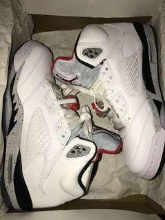 Jordan 5 - White Cement