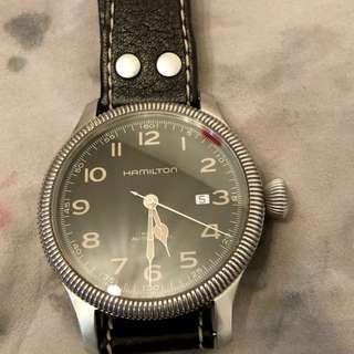 瑞士 Hamilton 卡其野战自動手錶