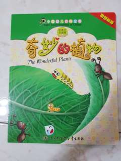 Bilingual educational book - The Wonderful Plants