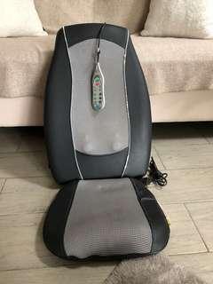 Homedics SBM-300H Shiatsu plus massaging cushion with heat