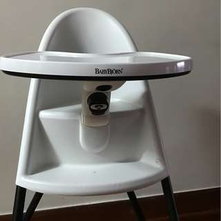 Selling BabyBjorn high chair in excellent condition
