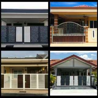 Ubah suai rumah&tukang cat pejabat