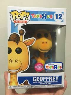 Funko Pop Ad Icon Flocked Geoffrey Toys R Us Exclusive