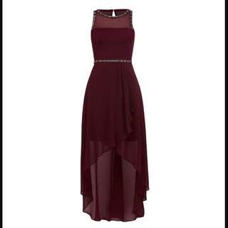Forever New - Angela Embellished High Low Dress (Prom)