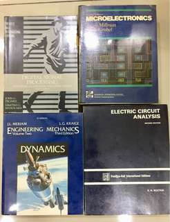 Assorted Electrical & Electronics Eng Books