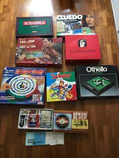 Board game and other