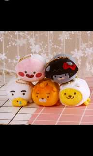 Kakao friends tsum tsum plush