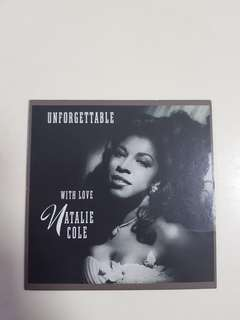 Unforgettable ... With Love - Natalie Cole (CD sleeve)