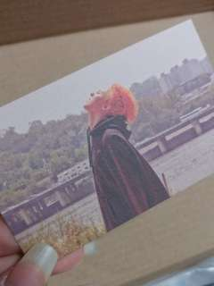 BIGBANG MADE G-Dragon PC/Photo Card