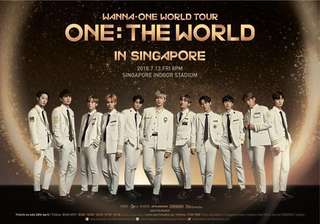 Assistance to purchase concert ticket [SINGTEL PRIORITY] wanna one world tour one the world singapore stop