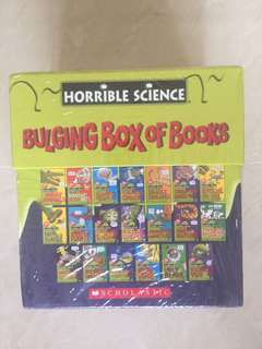 Horrible Science Bulging Box of Books