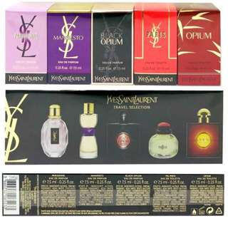 Authentic ysl selection travel miniature