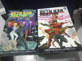 New 52 red hood and the outlaw vol 1&2