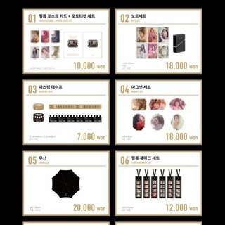 [Order by 21st April 9AM] APINK Pink Cinema 5th Fanclub Fanmeeting Official Goods