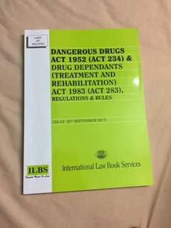 Dangerous Drug Act 1952