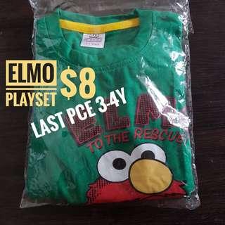 ELMO & BABY SHARK PLAYSET