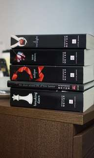 Twilight Saga Series Stephenie Meyer