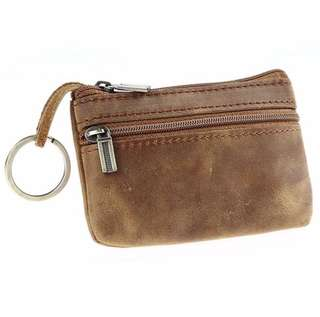 Vintage coin purse with zipper
