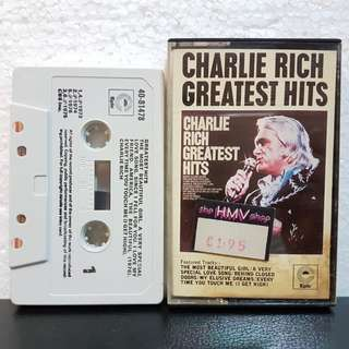 Cassette》Charlie Rich Greatest Hits
