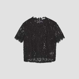 SAAAALE!! ZARA LACE EMBROIDERED TOP