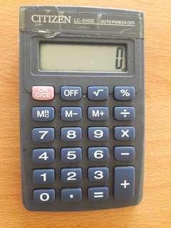 Preloved Kalkulator Abu Mini
