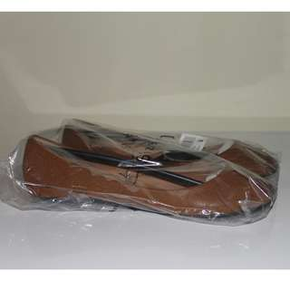 Brown/Tan Ballet Flats