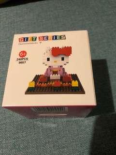 bNib QCF Diamond Block - hello kitty