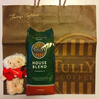 Tully's Coffee Beans House Blend Japan 日本招牌咖啡豆