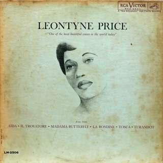 leontyne price Vinyl LP, used, 12-inch original pressing