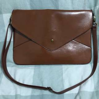 RECOLORED LEATHER ENVELOPE
