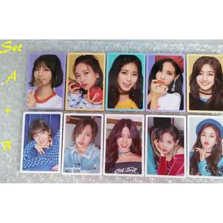 [WTS] TWICE What Is Love Photocard A+B *Benefit Preorder*